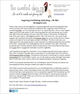 Article-Sugaring-Exfoliating